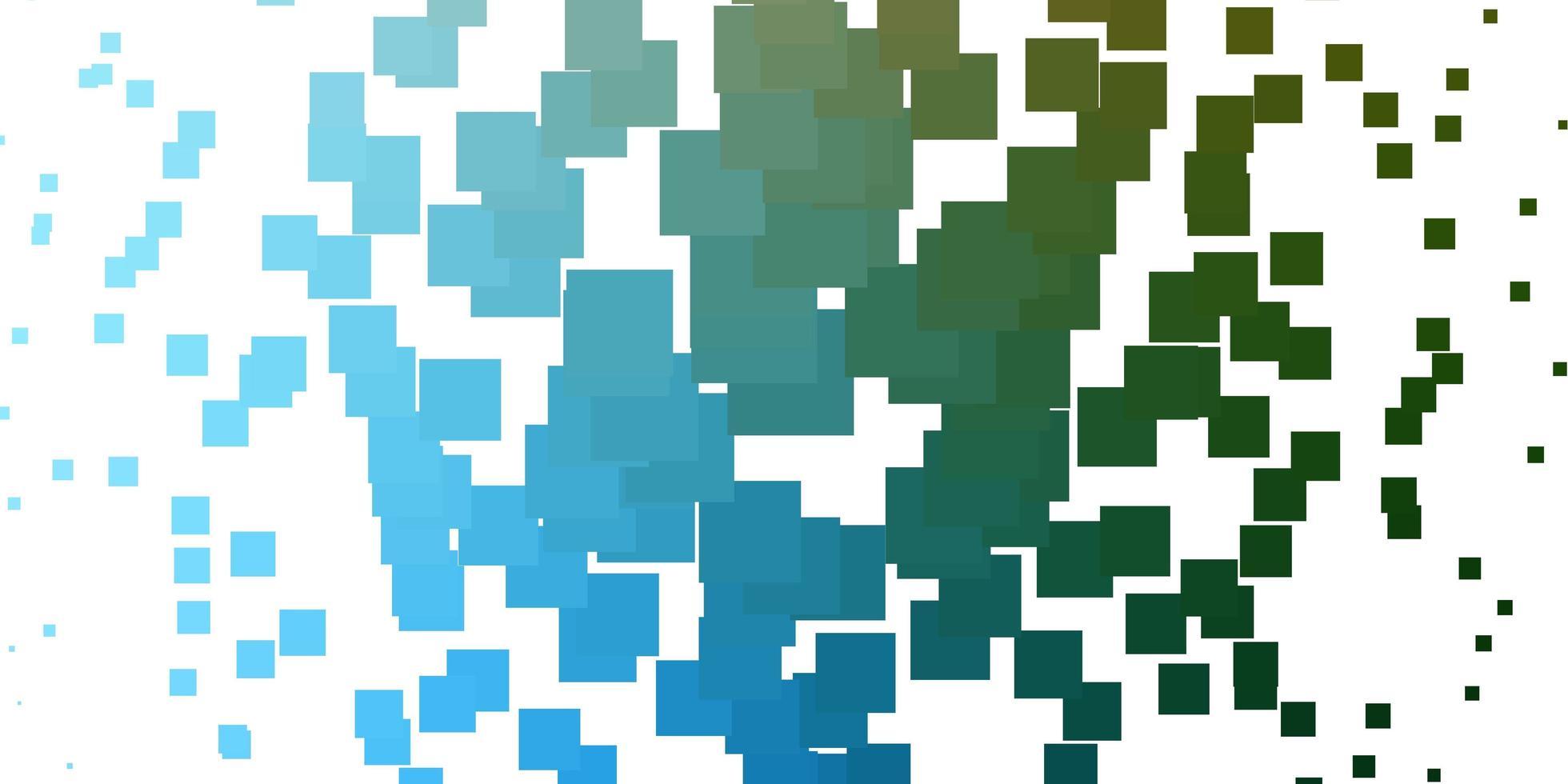 ljusblå, grön vektorstruktur i rektangulär stil. vektor