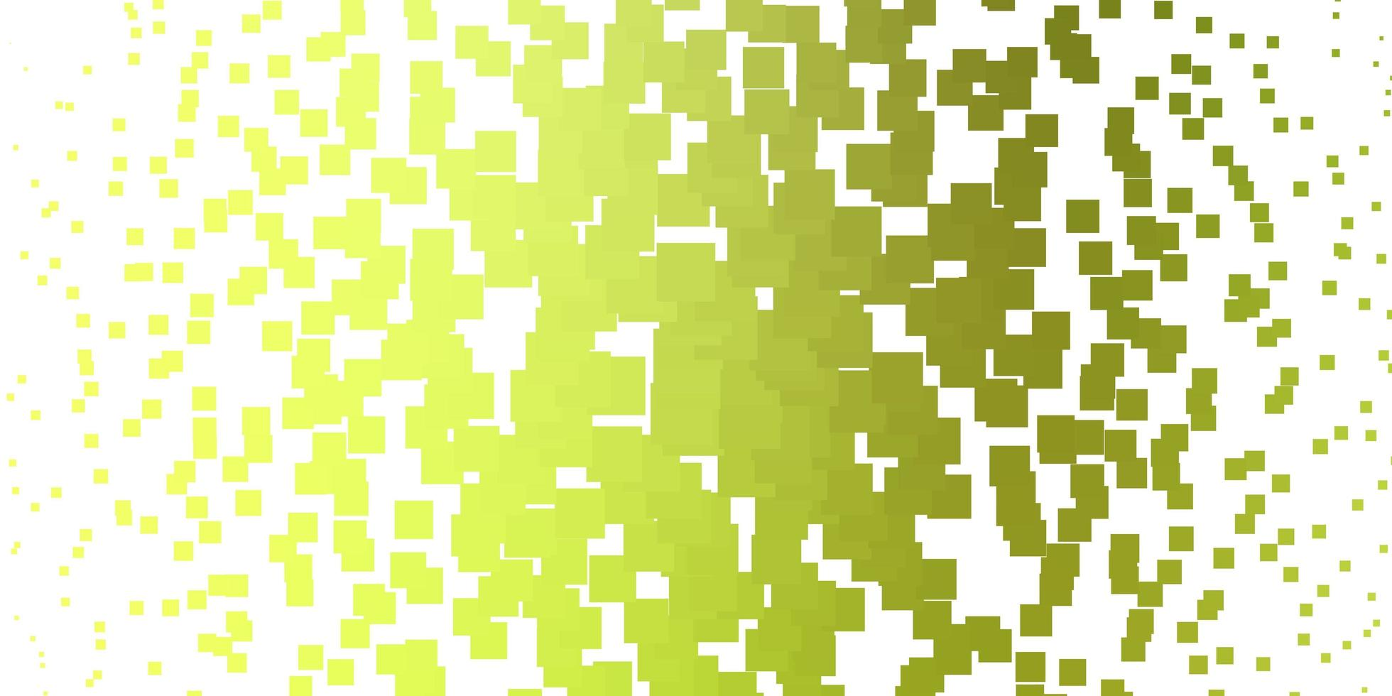 ljusgrön, gul vektorlayout med linjer, rektanglar. vektor