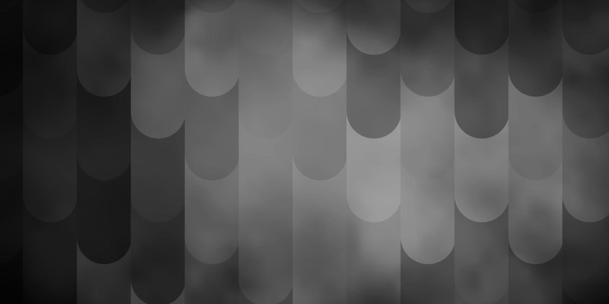 hellgraues Vektormuster mit Linien. vektor