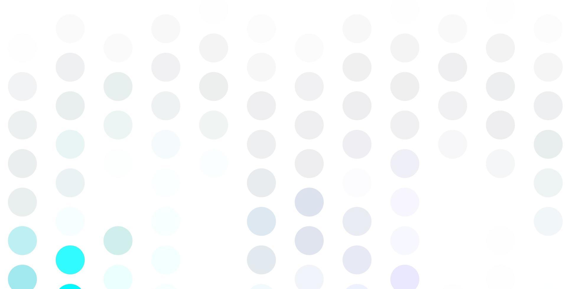 ljusrosa, blå vektorlayout med cirkelformer vektor