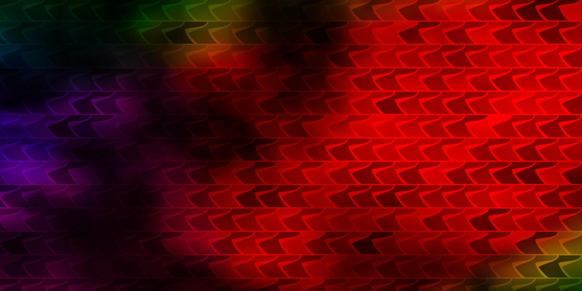 mörk flerfärgad vektorbakgrund i polygonal stil. vektor