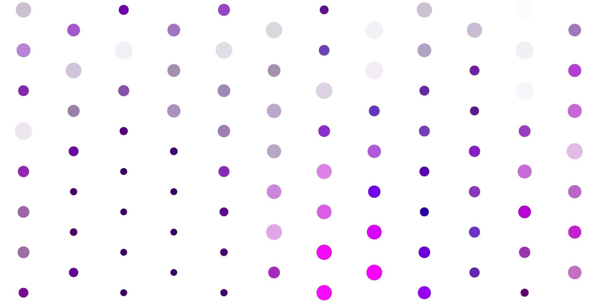 hellrosa Vektorhintergrund mit Punkten. vektor
