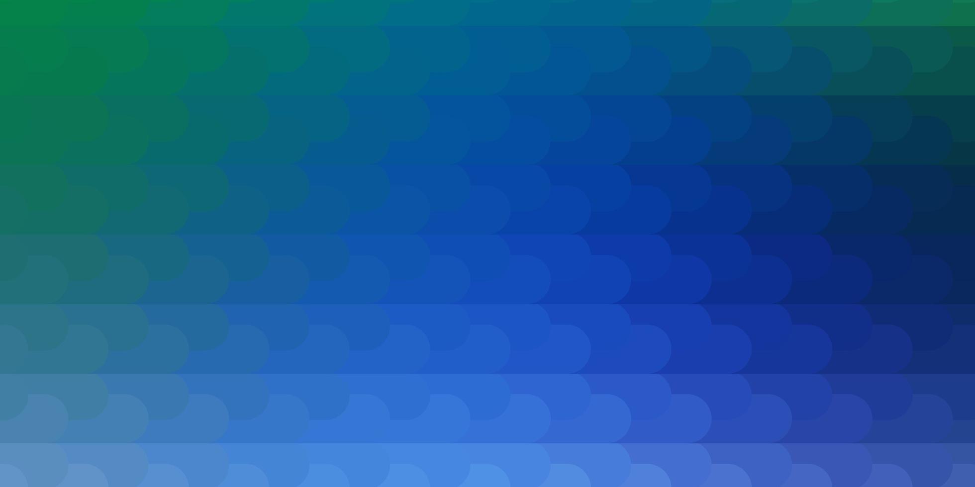 ljusblå, grön vektorlayout med linjer. vektor
