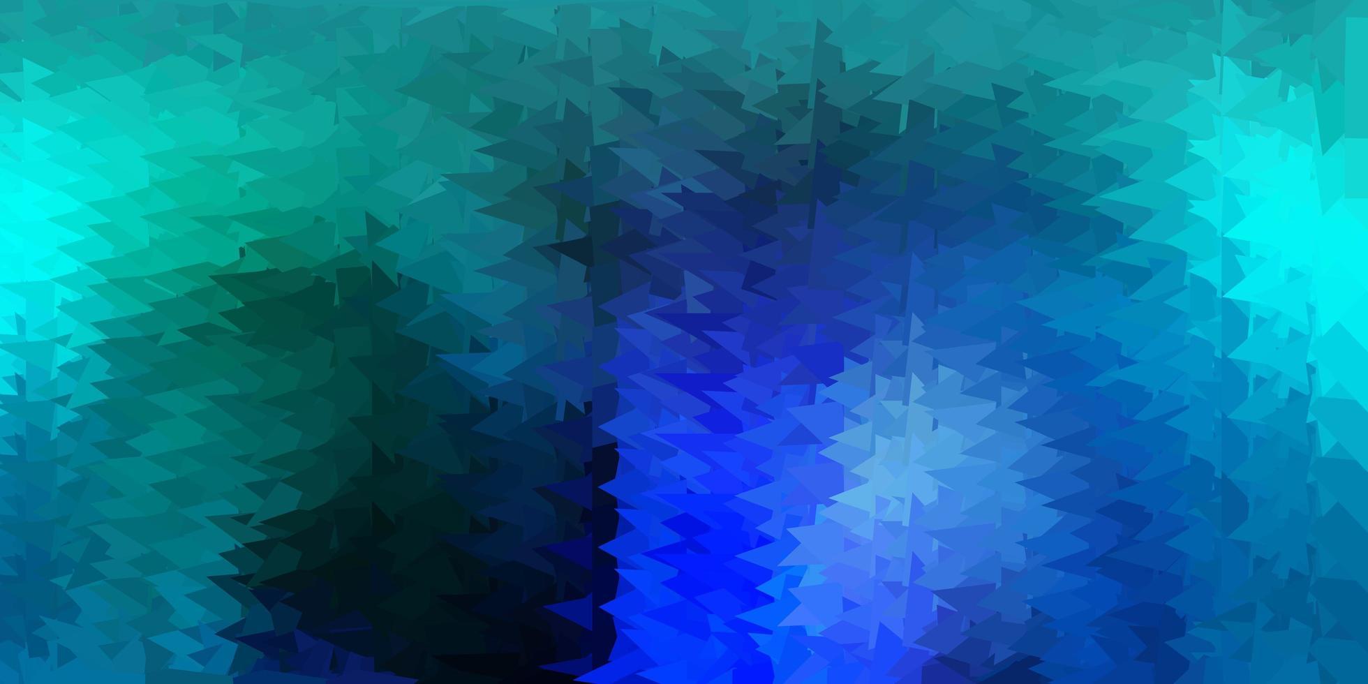 ljusblå vektor gradient polygon layout.