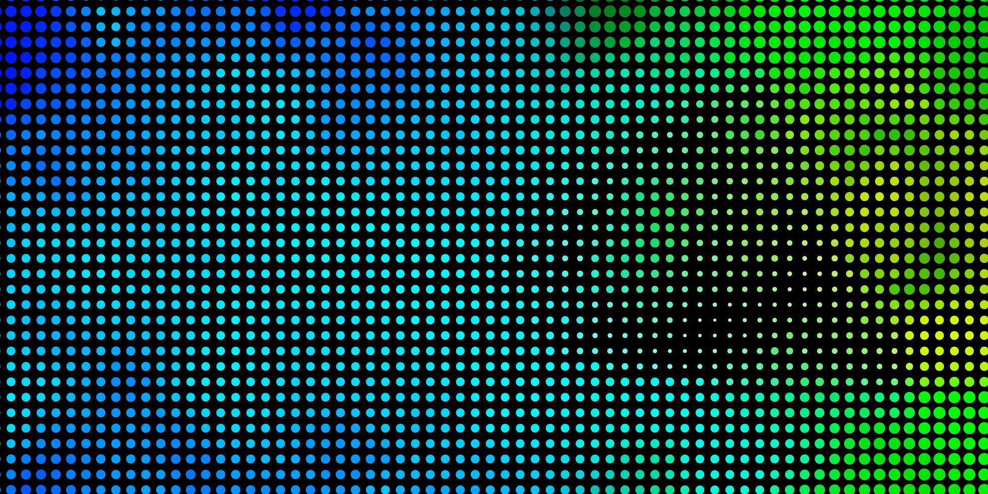 ljusblå, grön vektorstruktur med cirklar. vektor