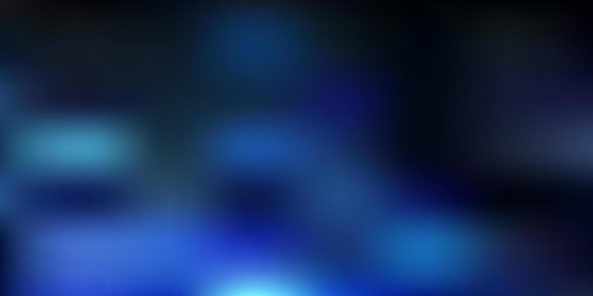 hellblaue Vektor abstrakte Unschärfe Muster
