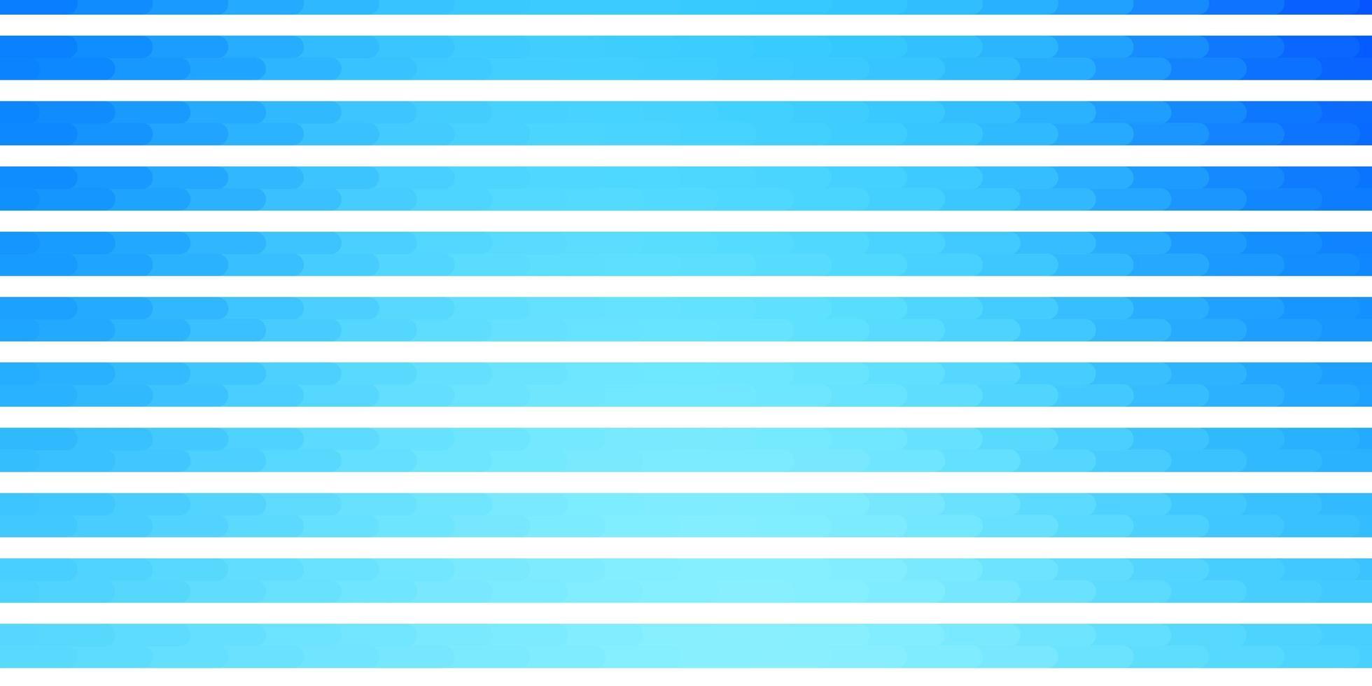 hellblaue Vektorschablone mit Linien. vektor