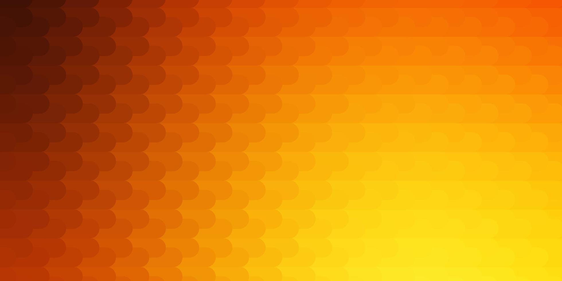 hellorange Vektorlayout mit Linien. vektor