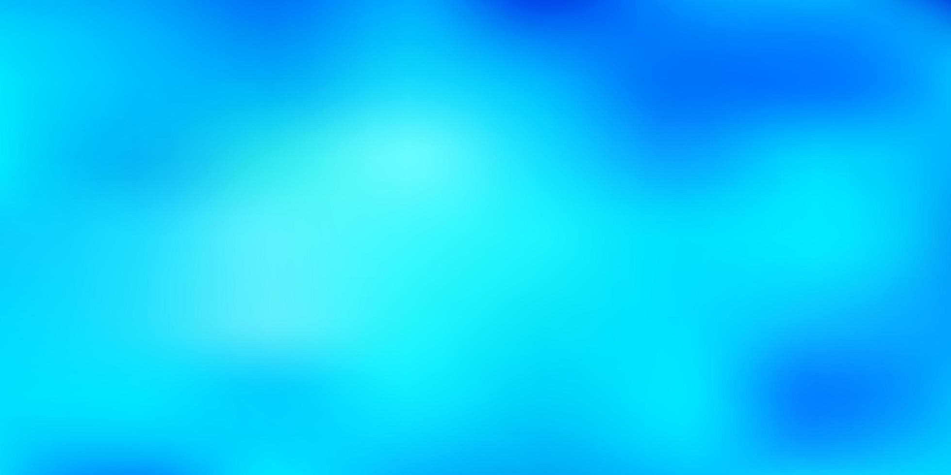 hellblaue Vektor abstrakte Unschärfe Muster.