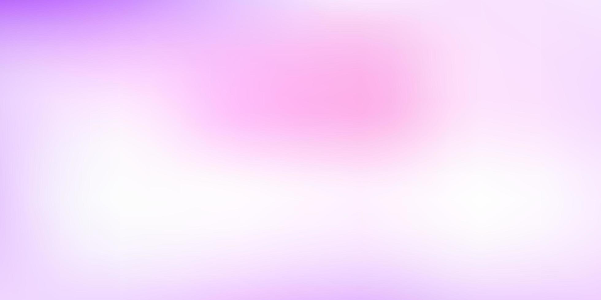 hellviolette, rosa Vektor abstrakte Unschärfe Vorlage.