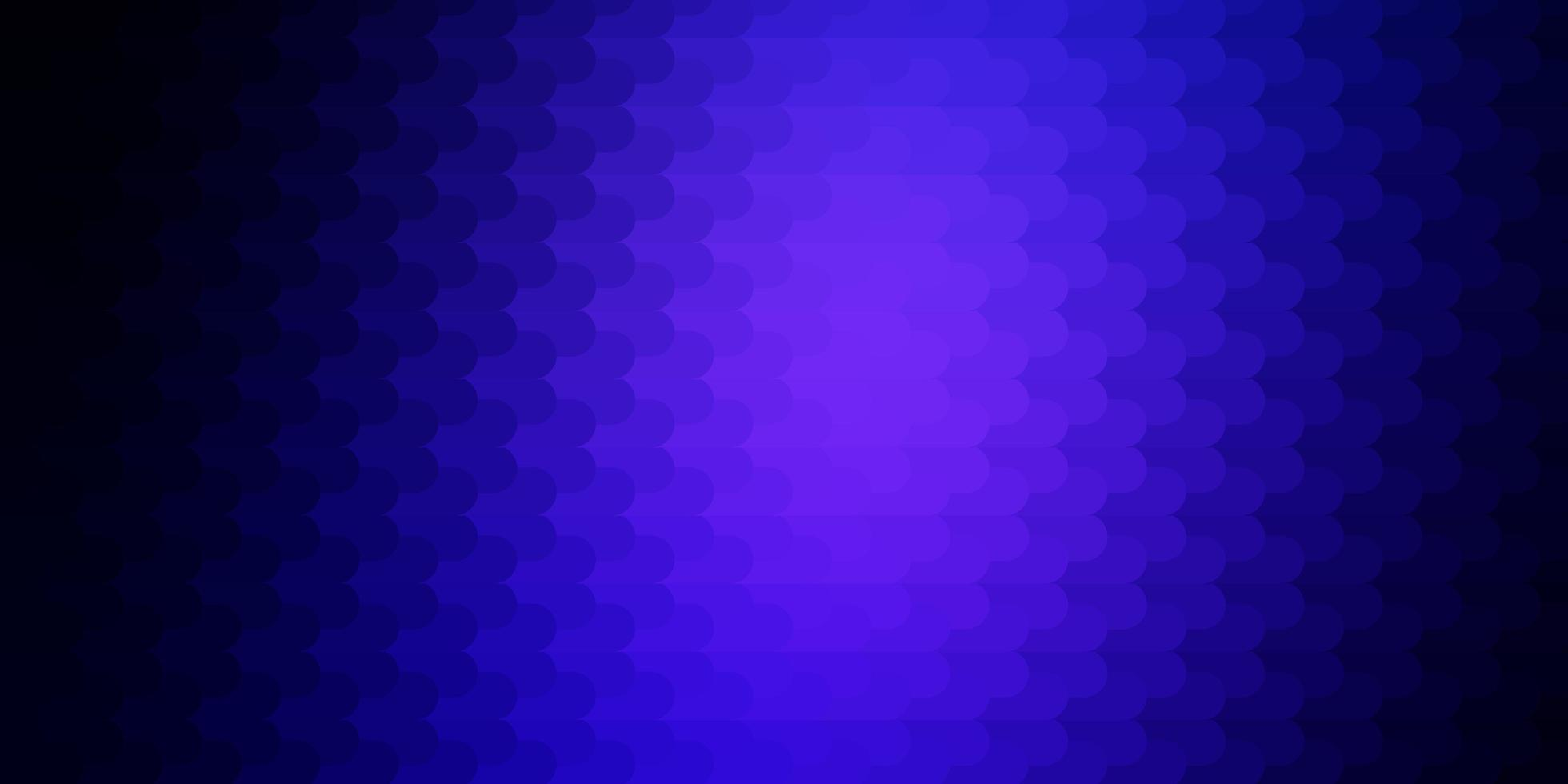 dunkelblaues Vektormuster mit Linien. vektor