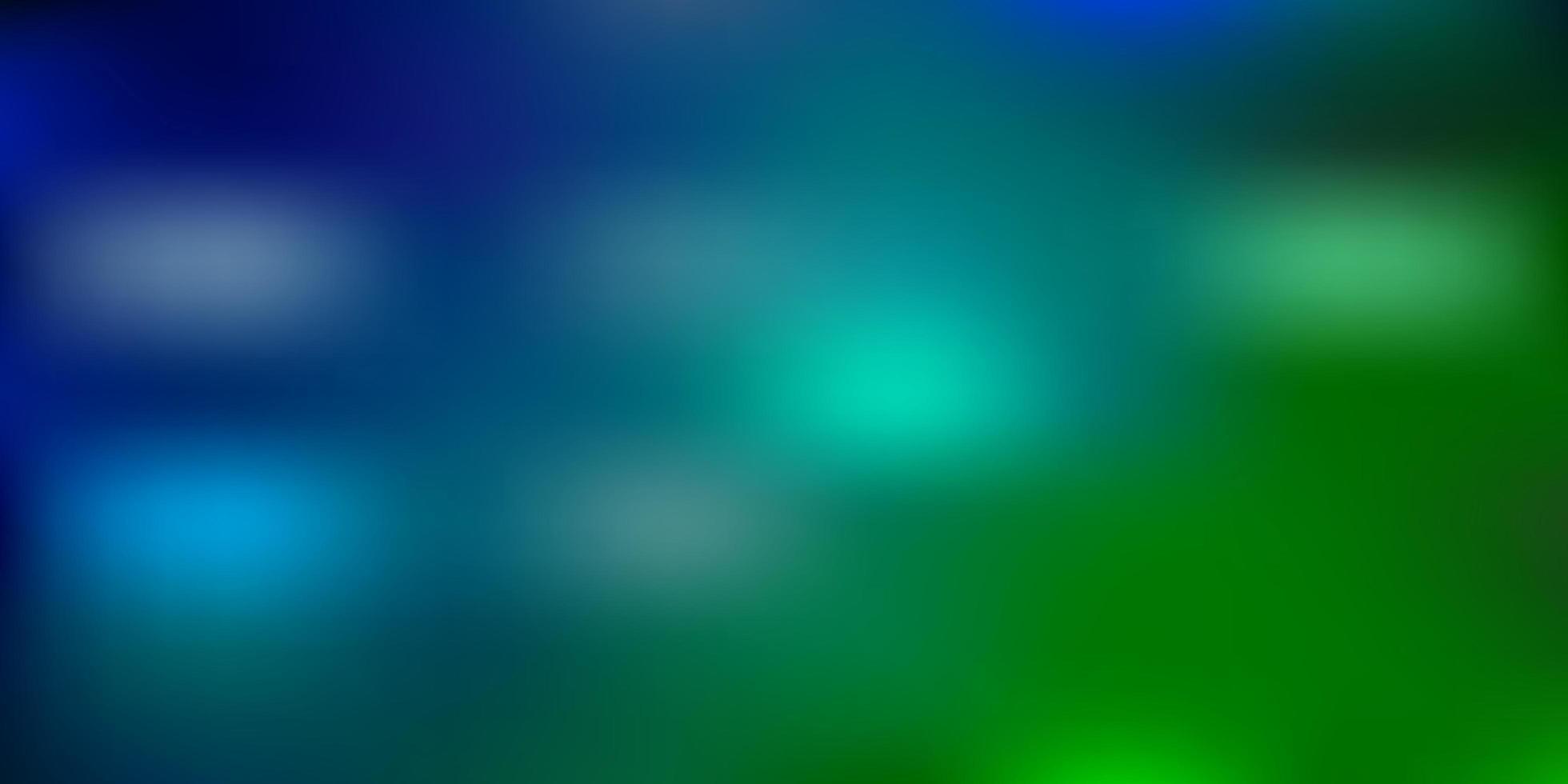 hellblaues, grünes Vektor-verschwommenes Layout. vektor