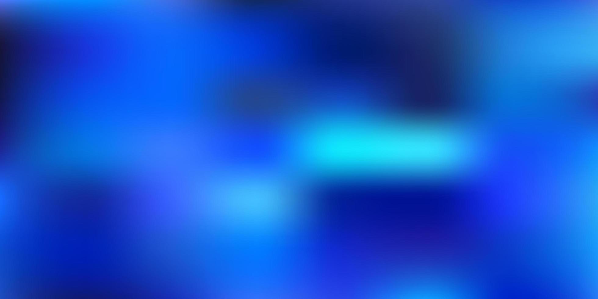 dunkelblauer Vektor verwischen Hintergrund.