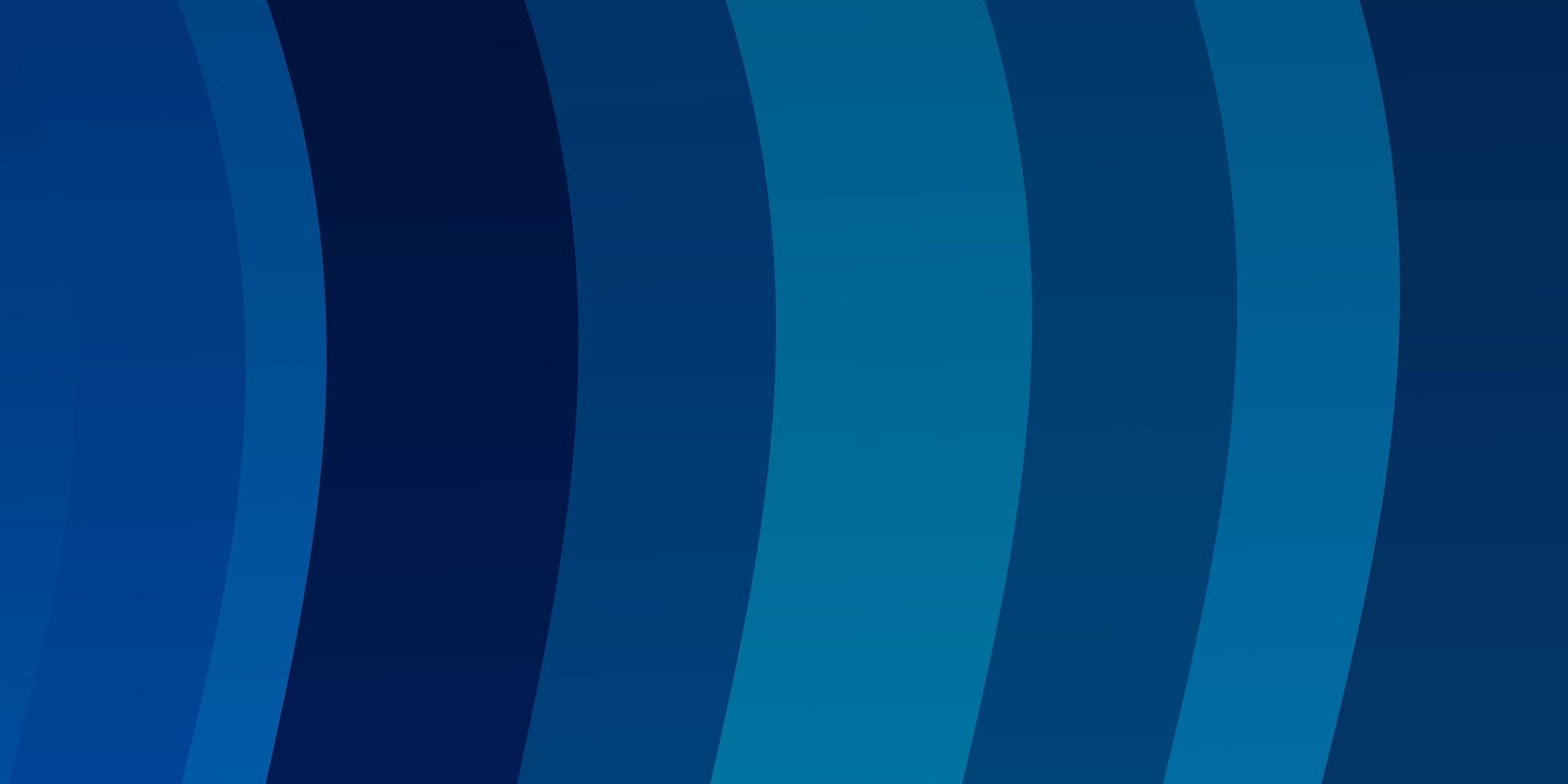 ljusblå vektor mönster med kurvor.