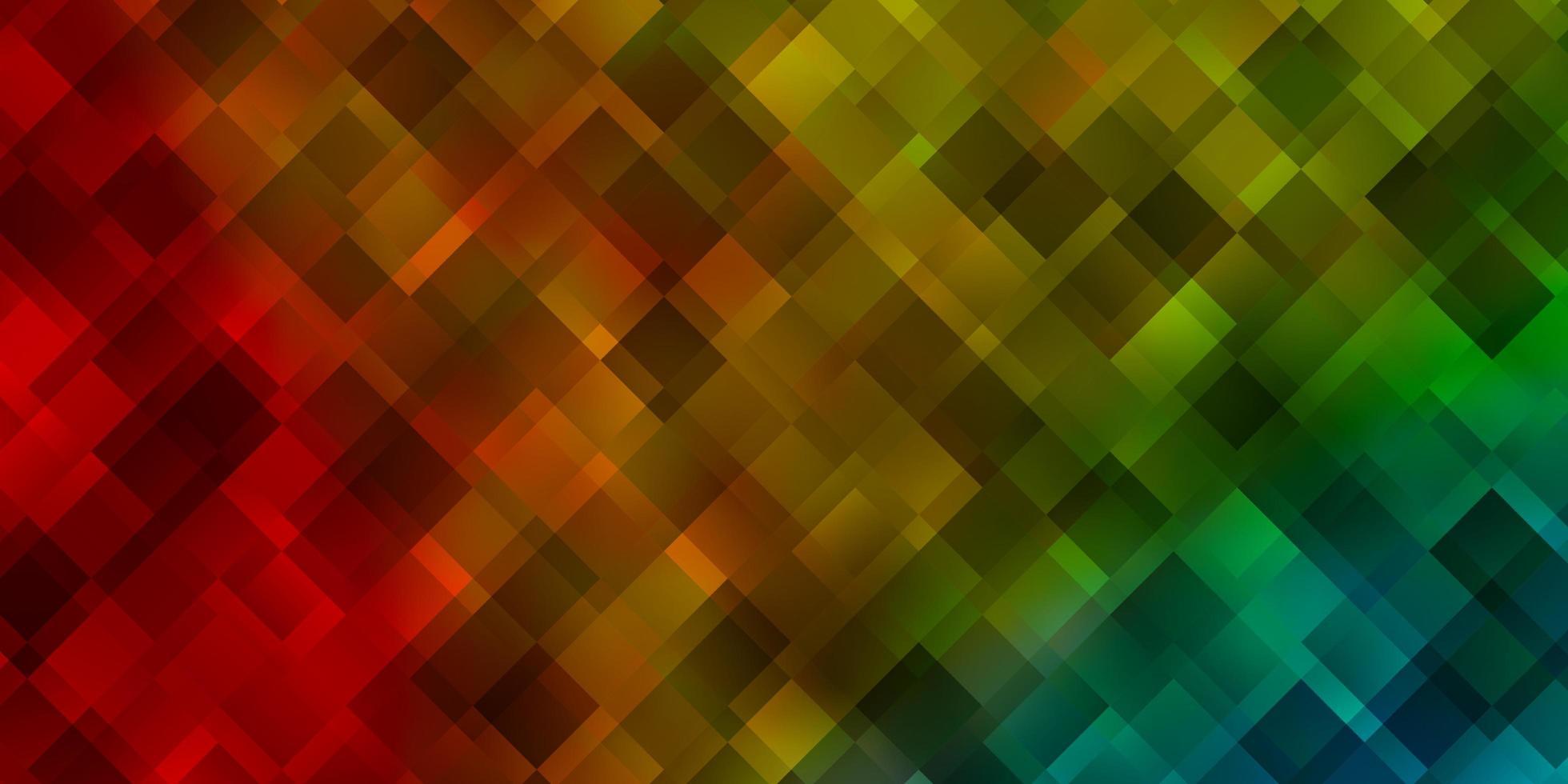 ljusblå, gul vektorbakgrund i polygonal stil. vektor
