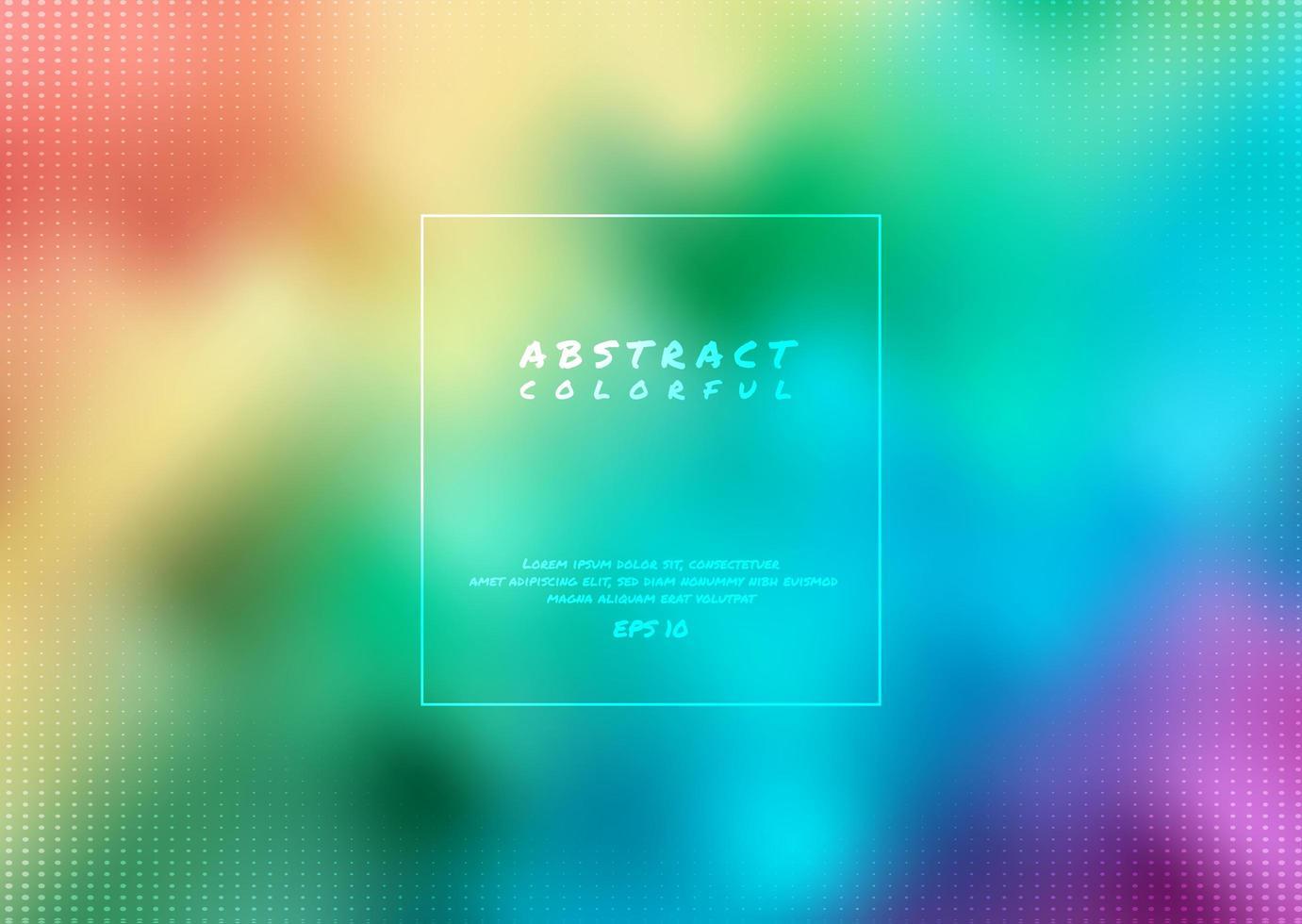 abstrakt regnbågebakgrund vektor