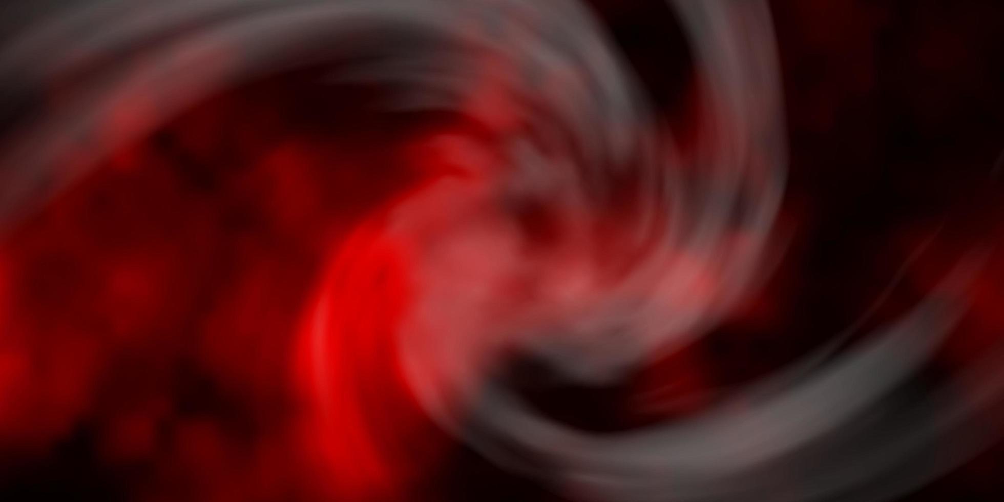 mörk röd vektormall med himmel, moln. vektor