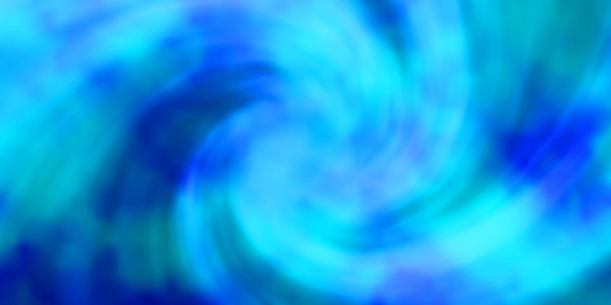 ljusblå vektor bakgrund med cumulus.