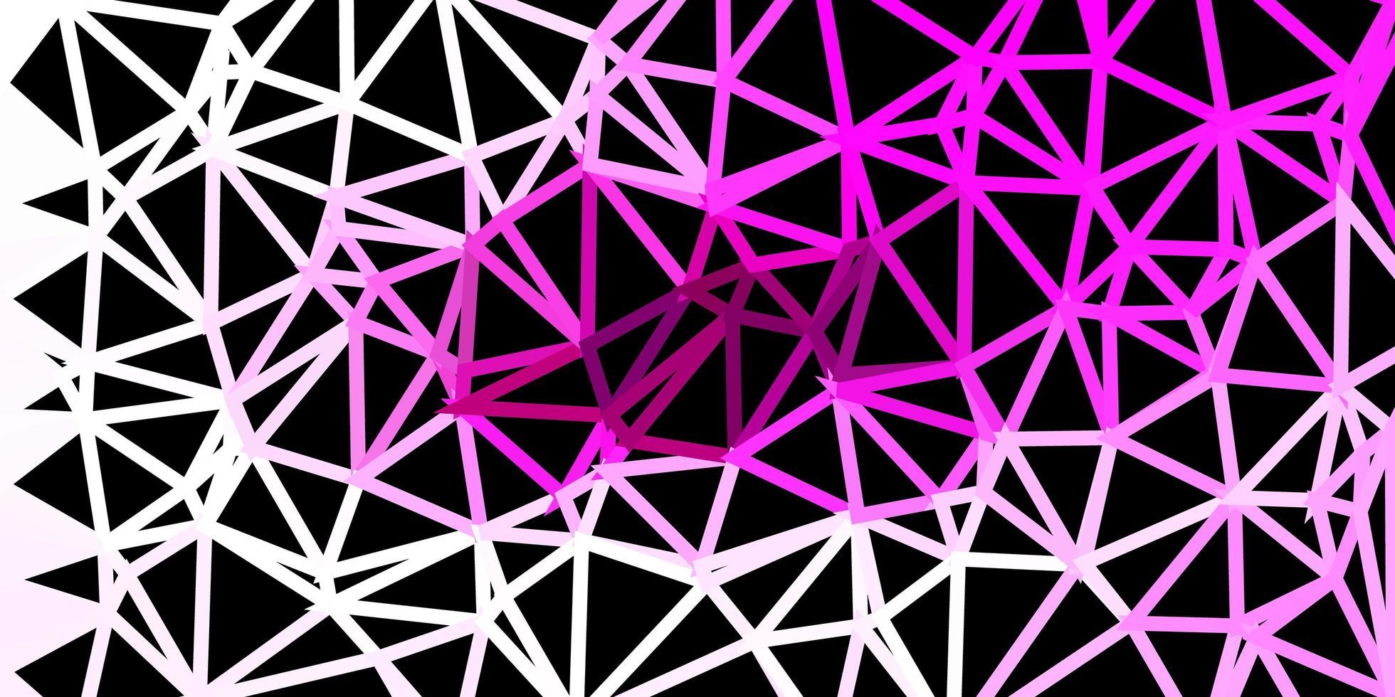 Polygonaler Hintergrund des hellrosa Vektors. vektor