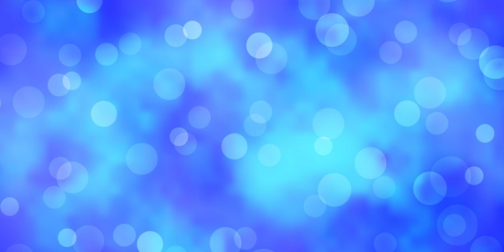 ljusblå vektor bakgrund med bubblor.