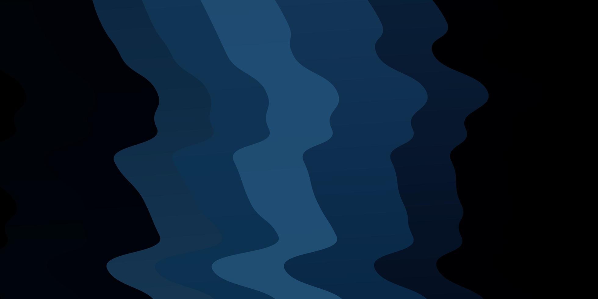 mörkblå vektor bakgrund med cirkulär båge.