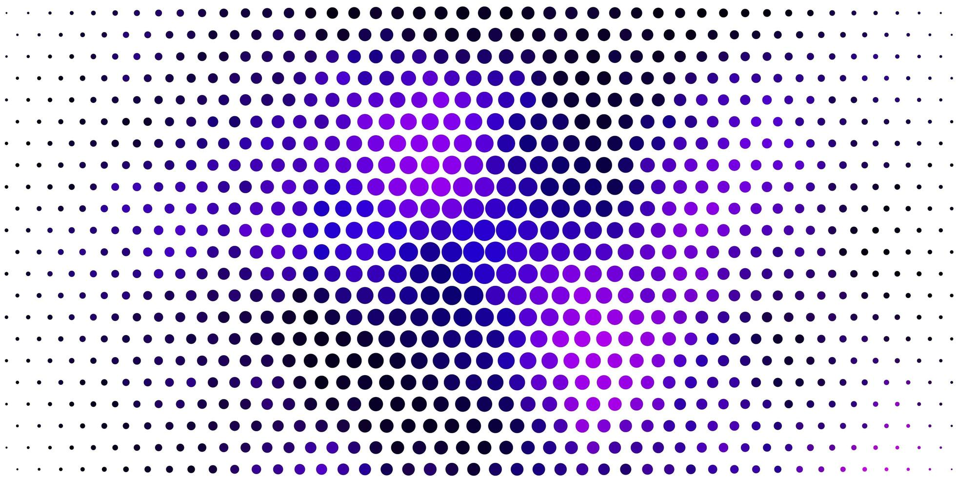 hellviolette, rosa Vektorschablone mit Kreisen. vektor