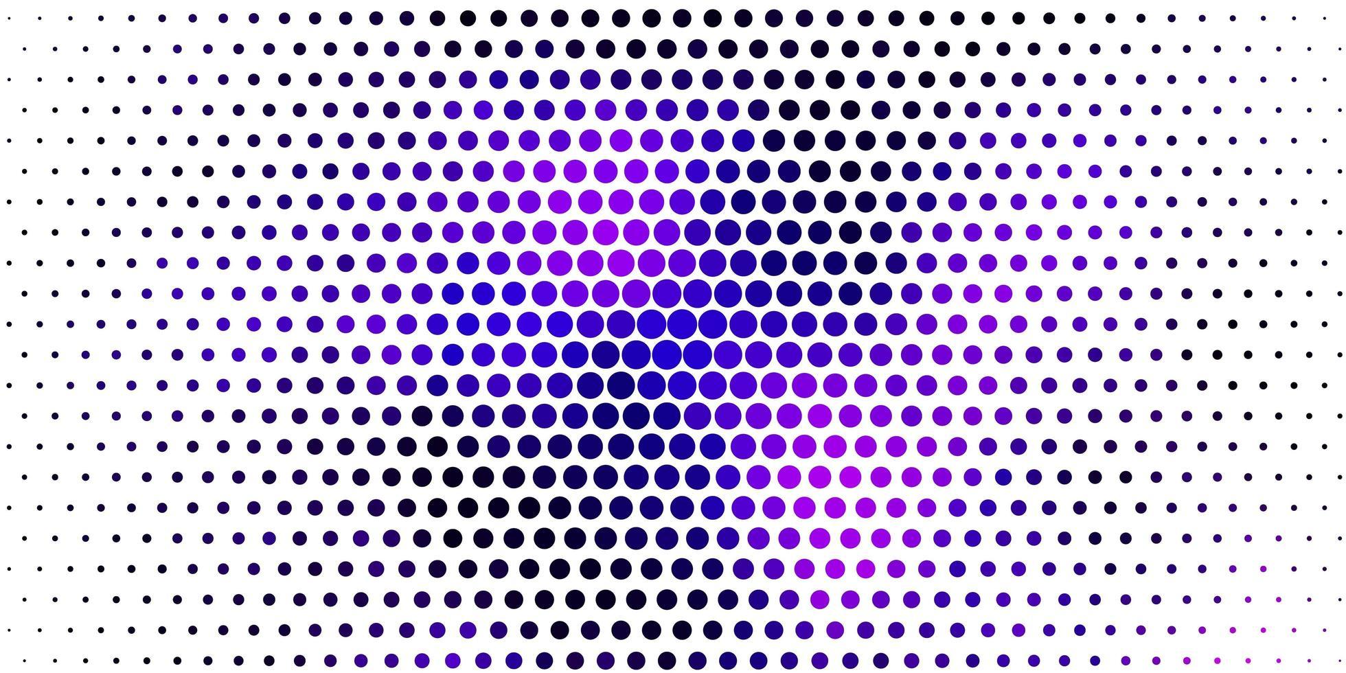 ljuslila, rosa vektormall med cirklar. vektor
