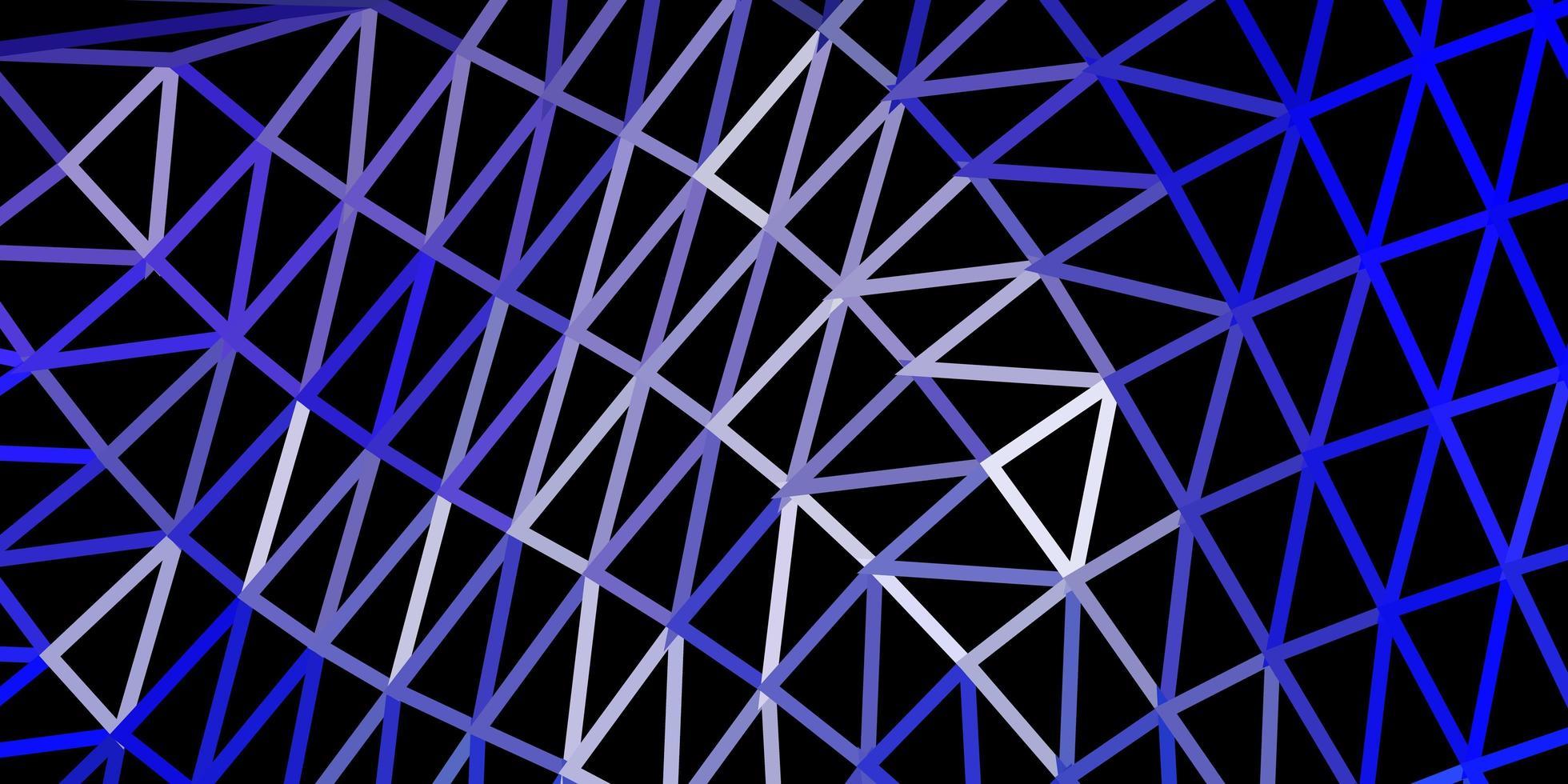ljuslila vektor geometrisk polygonal design.