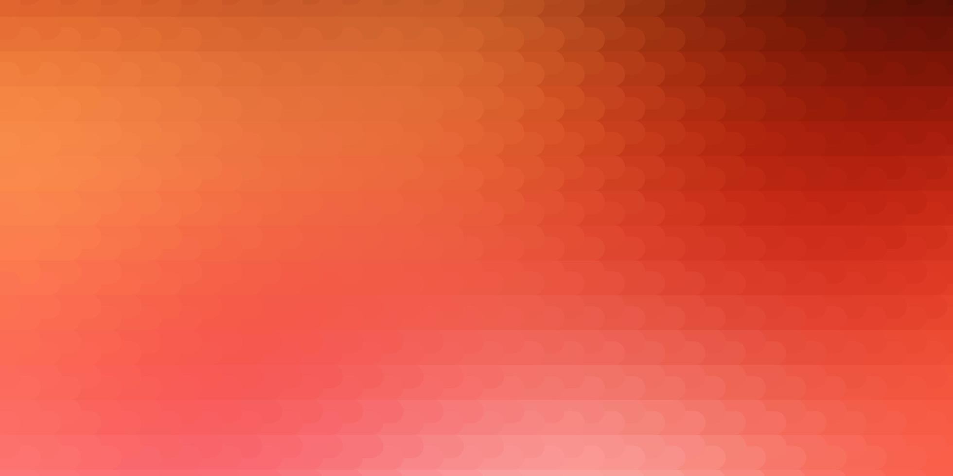 ljusröd, gul vektorbakgrund med linjer. vektor