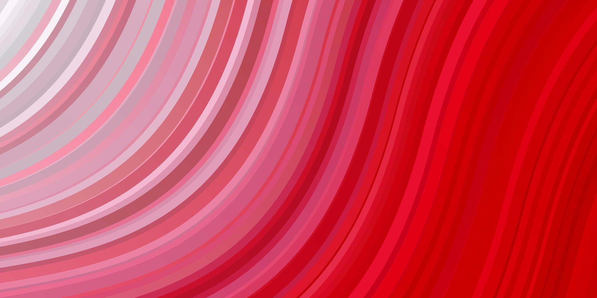 hellrote Vektorschablone mit schiefen Linien. vektor