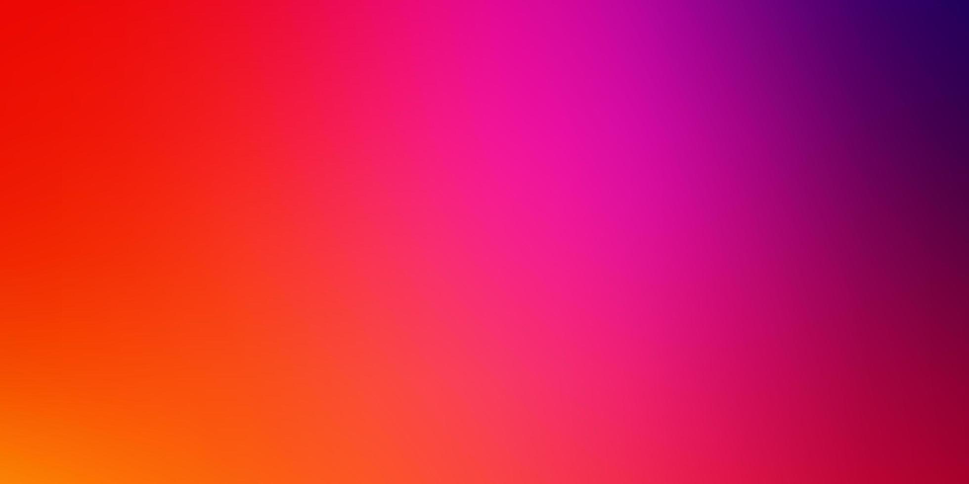 ljusrosa, gul vektor suddig färgglad mall.