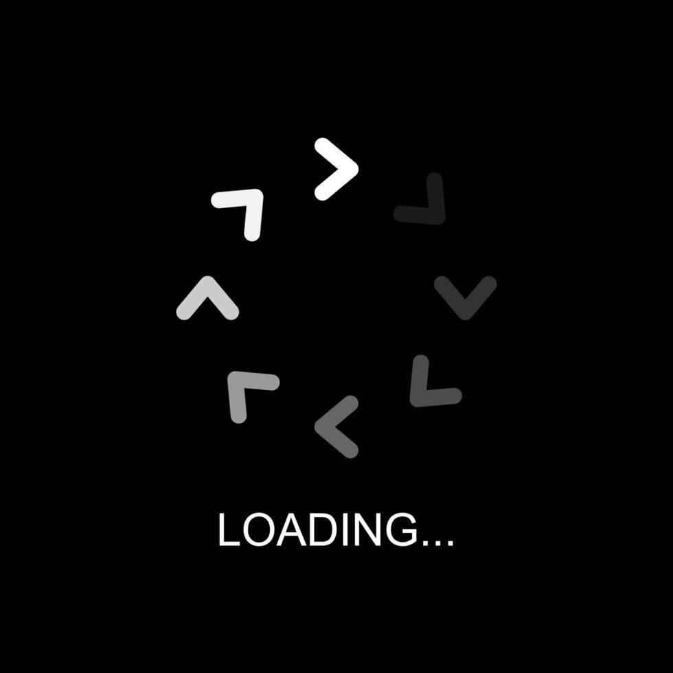 ikonen för laddningsfält, buffring, nedladdning, uppladdning och laddning vektor