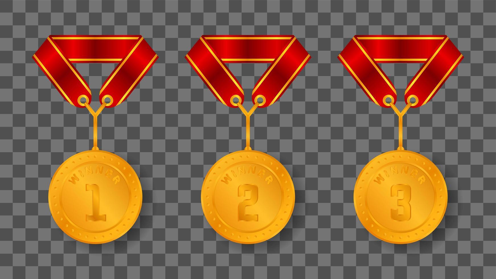 guldmedalj illustration vektor