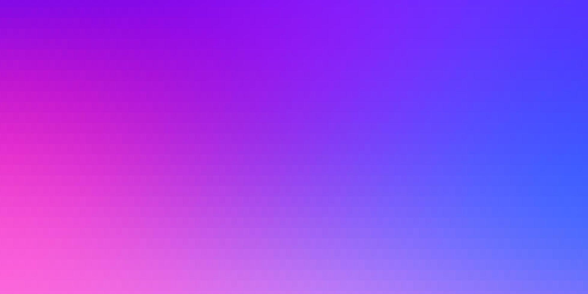 ljusrosa, blå vektormall i rektanglar. vektor