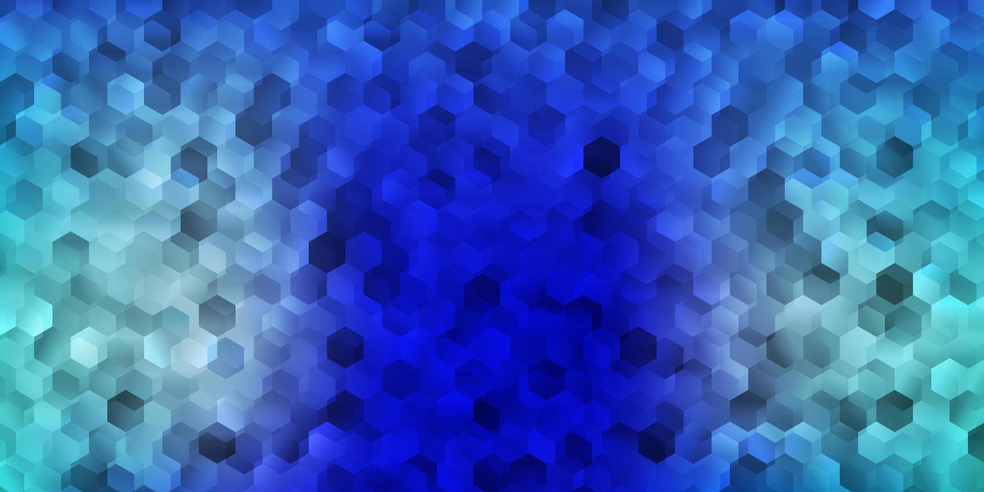 ljusblå vektor bakgrund med kaotiska former.