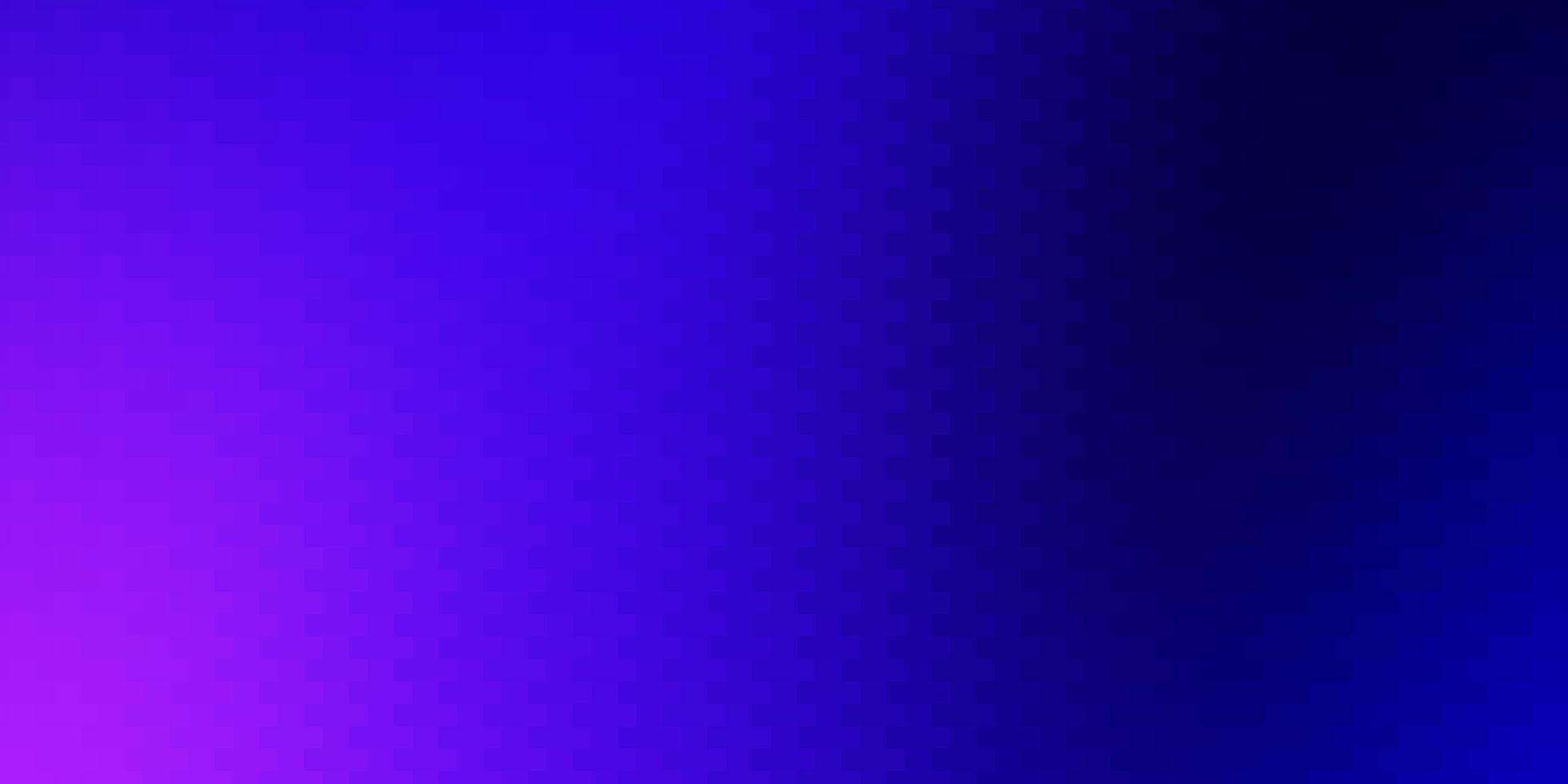 mörkrosa, blå vektorlayout med linjer, rektanglar. vektor