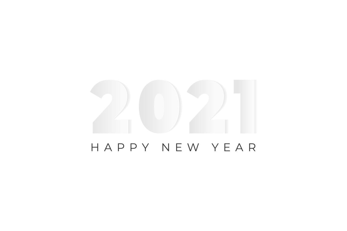 2021 Papierhintergrund vektor