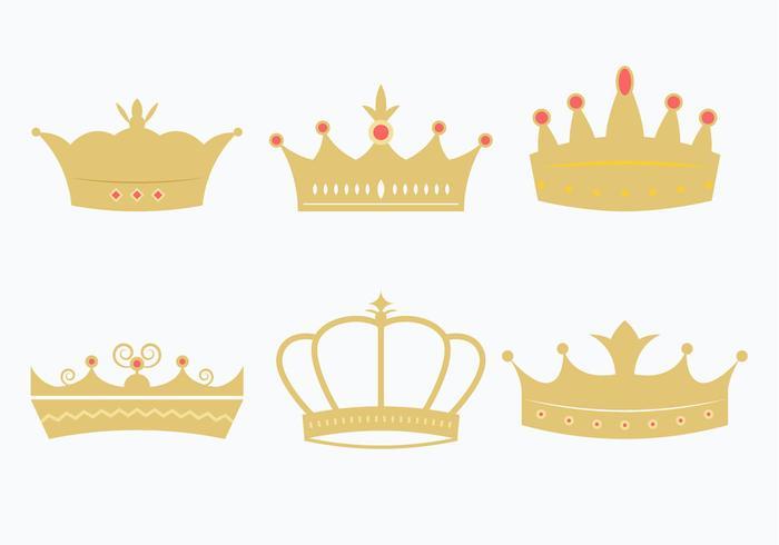 Princesa Kronenset vektor