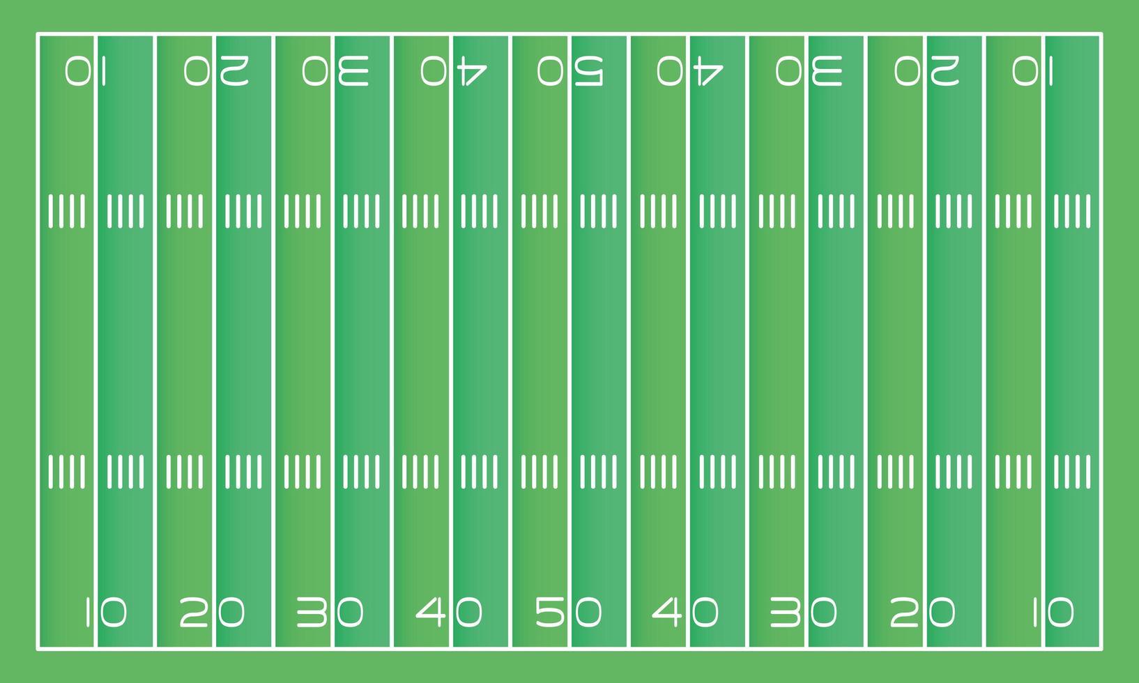 American-Football-Feldszenenikone vektor