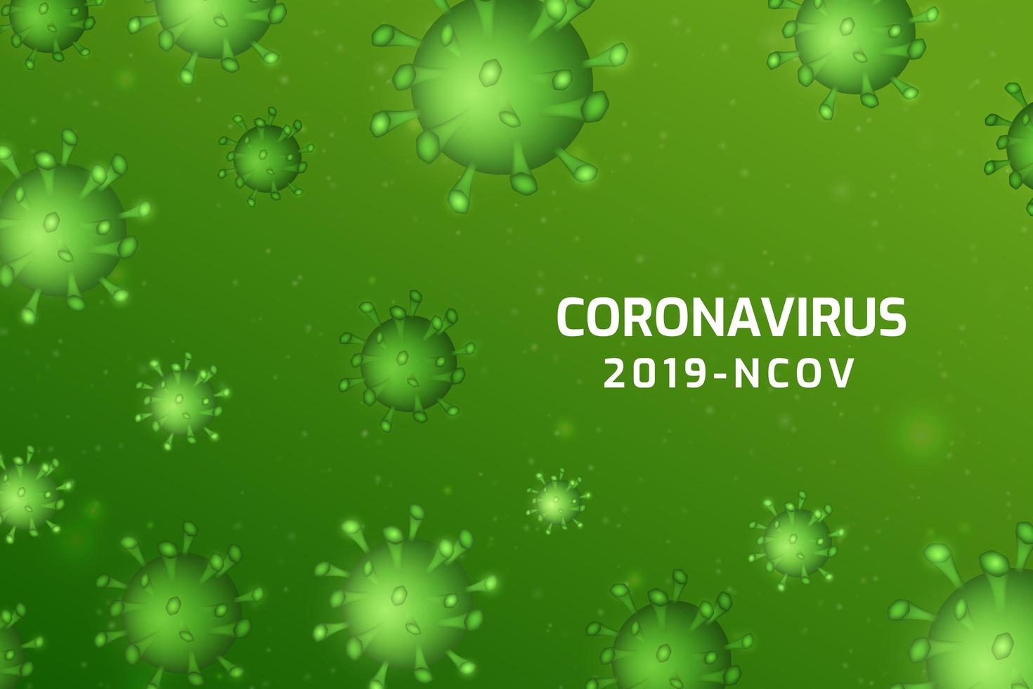 virusinfektion eller bakterieceller bakgrund. vektor