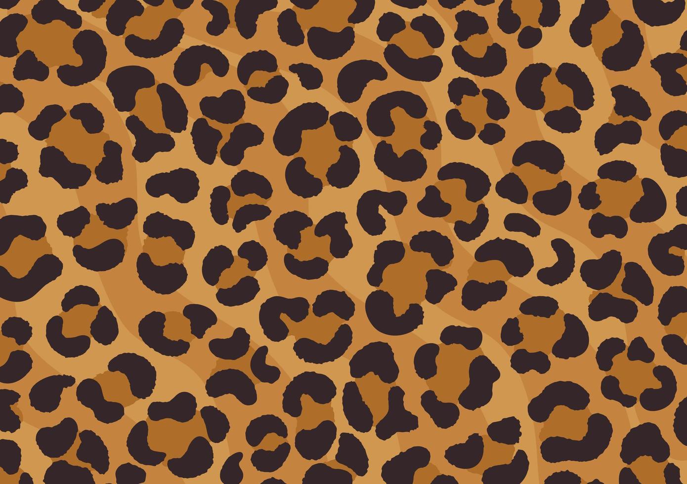 Leopardenmuster. Gepardenhaut. Tierdruck. vektor