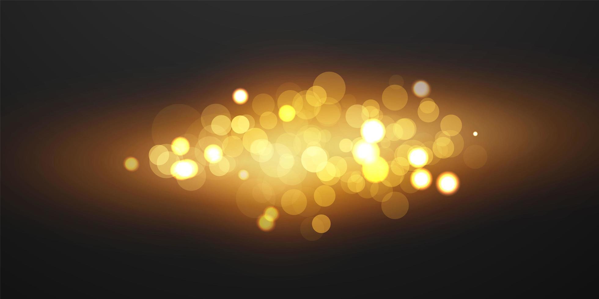 abstrakt oskärpa ljuselement som kan användas för dekorativ bokeh bakgrund. vektor