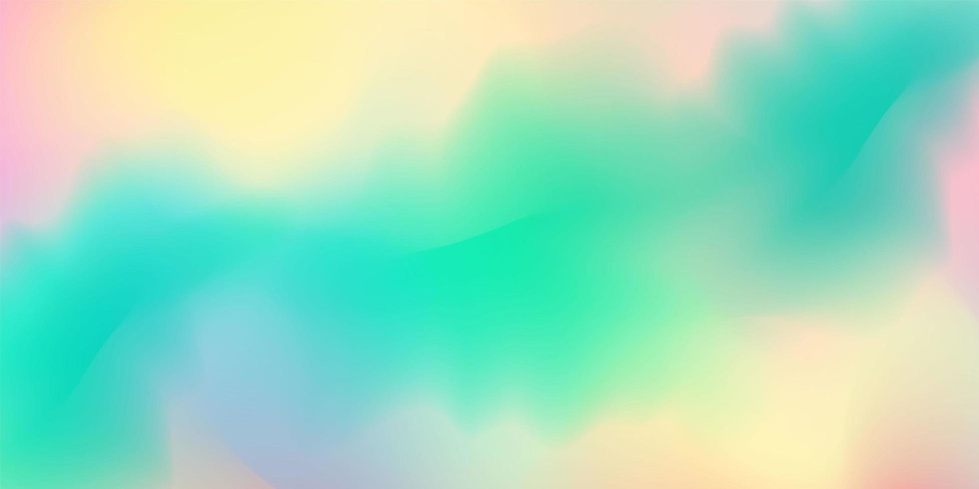abstraktes pastellfarbenes buntes Farbverlaufshintergrundkonzept für Ihr grafisches buntes Design vektor