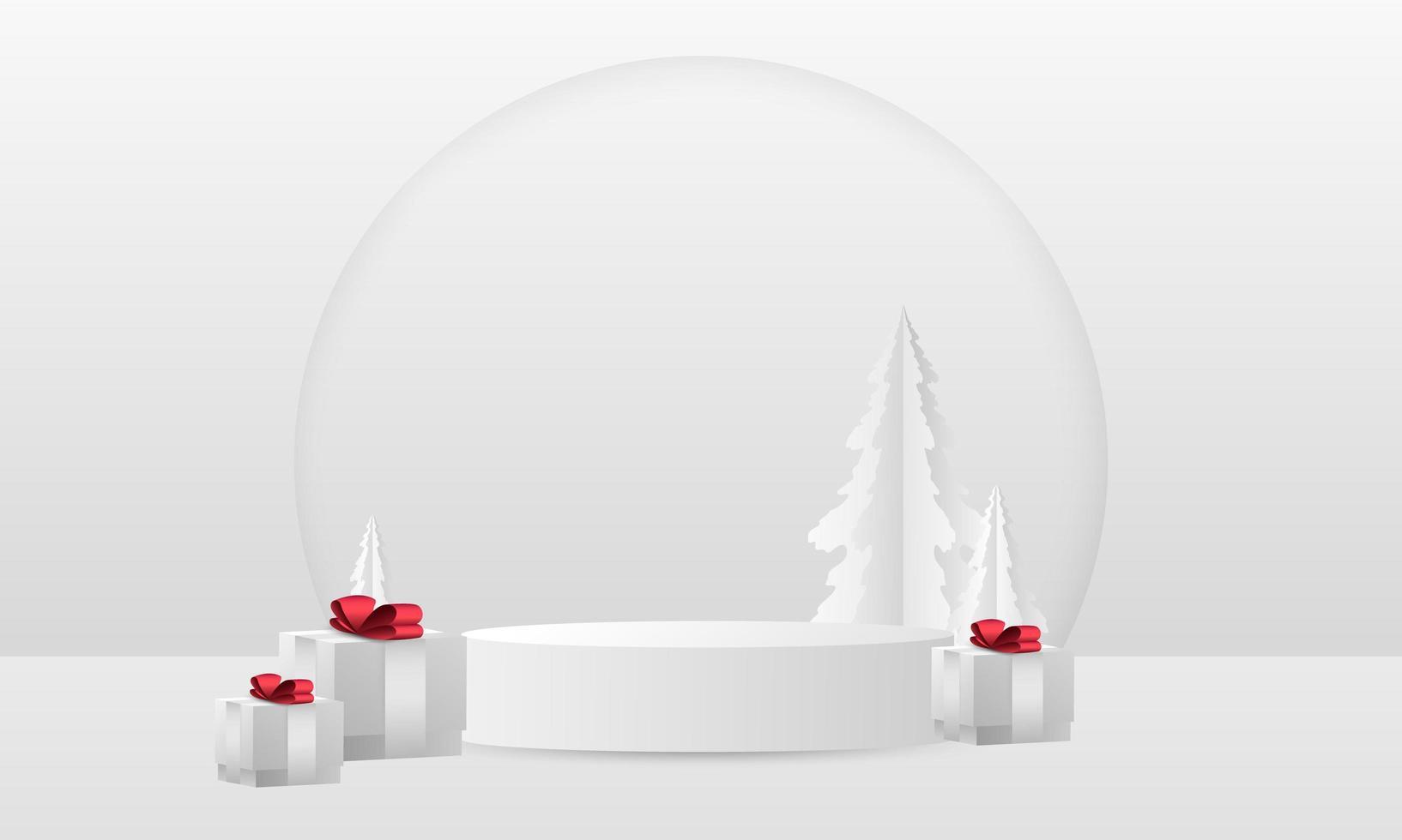 julklapp abstrakt element som kan användas för omslag dekoration håna bakgrund vektor