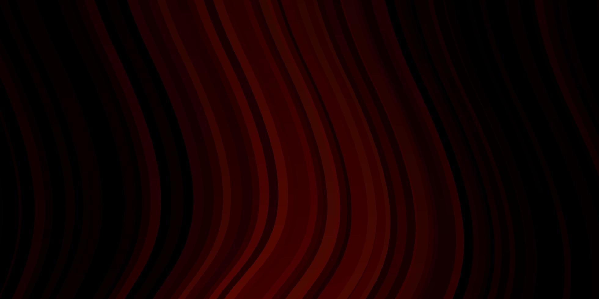 dunkelrotes Vektormuster mit schiefen Linien. vektor