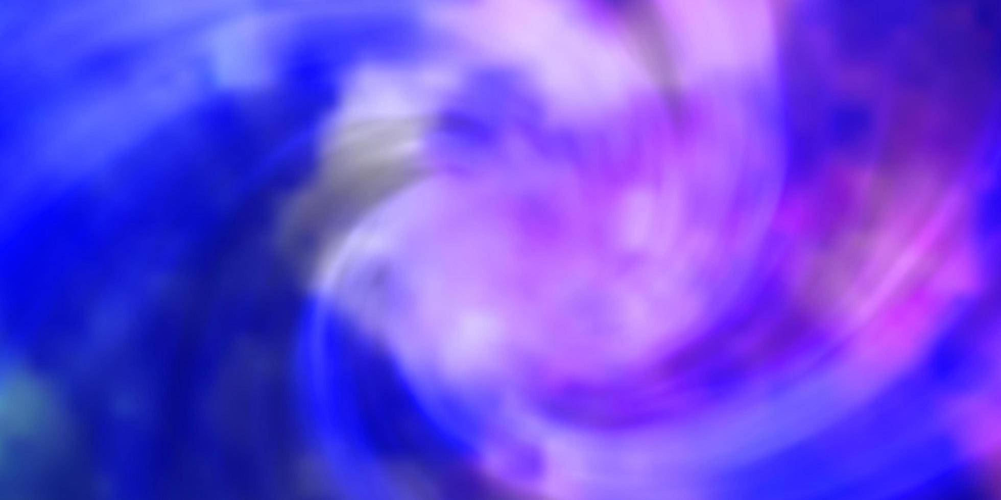 ljusrosa, blå vektormönster med moln. vektor