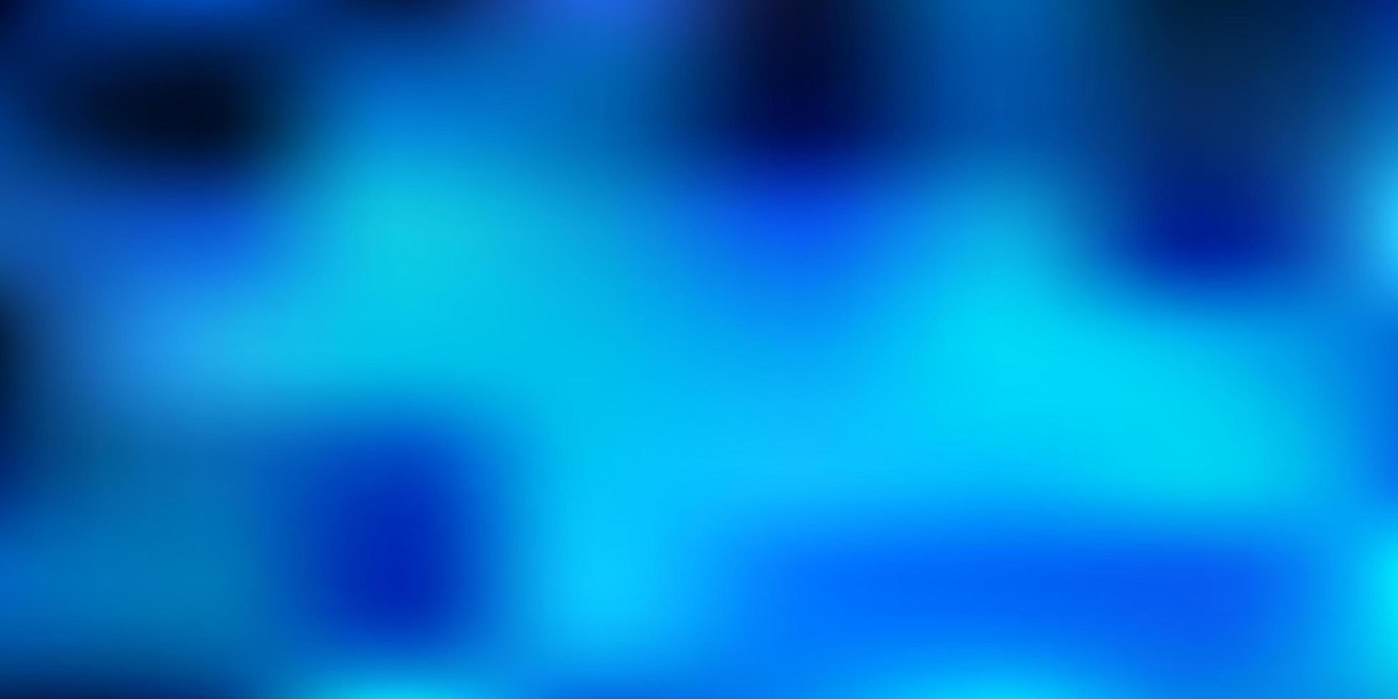 dunkelblaue Vektor abstrakte Unschärfe Vorlage.