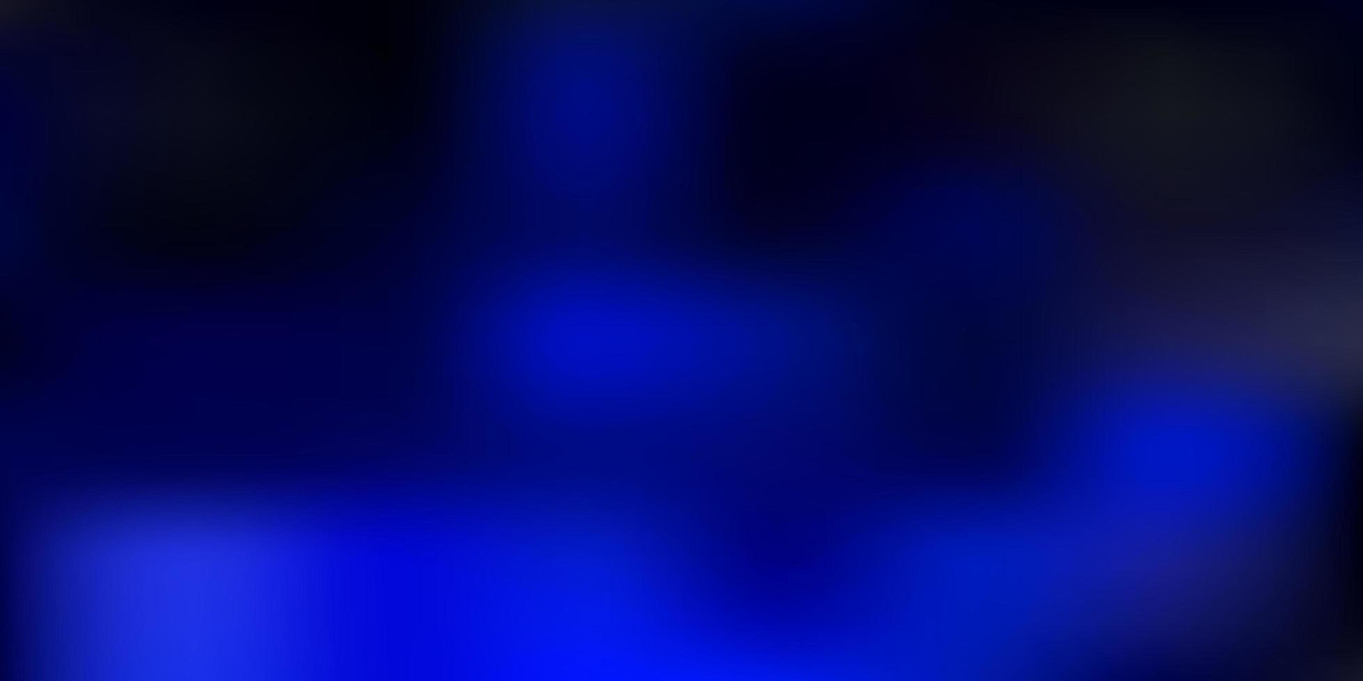 dunkelblauer Vektor unscharfer Hintergrund.