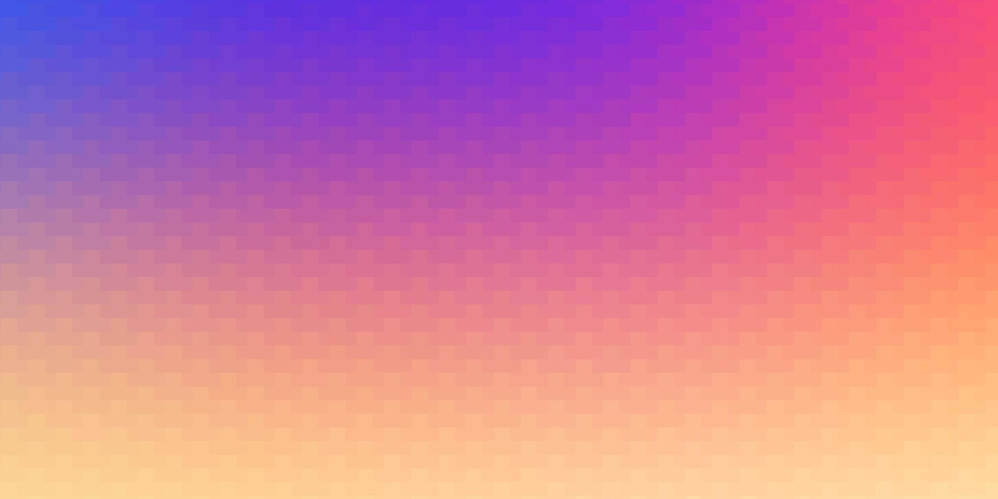 ljus flerfärgad vektormall i rektanglar. vektor