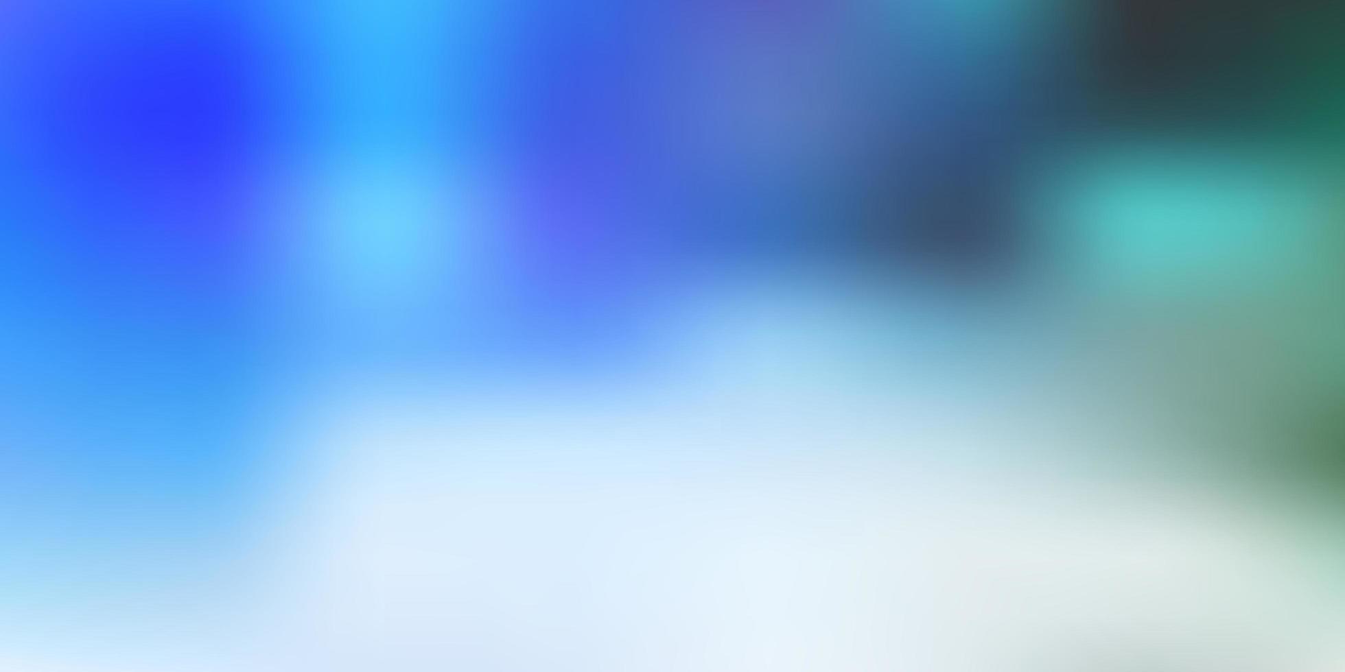 hellblaue Vektorunschärfezeichnung. vektor